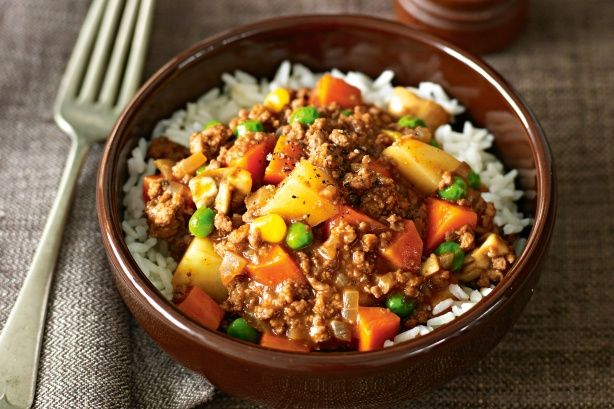 Savoury mince- nice simple meal for dinner, serve with Yorkshire Pudding, yum