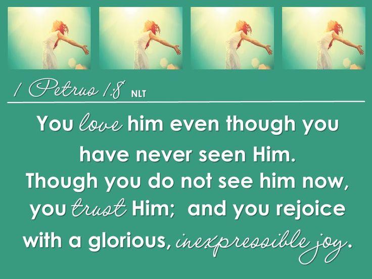 Flourishing Life 4 1 Peter 1:8