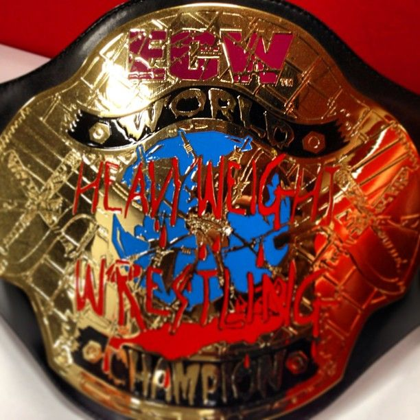 #ECW Heavyweight Championship. Shane Douglas is recognized as the first ECW Champion. #wwe