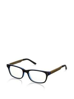 74% OFF Ivory + Mason Men's Melrose Eyeglasses, Blue Black/Olive