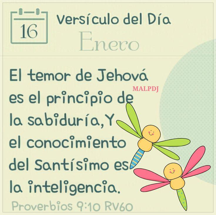 El temor de Jehová es el principio de la sabiduría,Y el conocimiento del Santísimo es la inteligencia. Proverbios 9:10 RV60 ¿Qué opinas acerca de esta publicación?