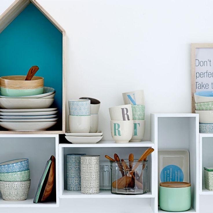 Zestaw półek HOME - agamartin.com - Design Skandynawski, Meble Skandynawskie, Duńskie, Industrialne, Retro, Vintage, Organic, Fabryczne