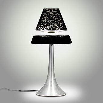 LED Floating Black version / LED Lamp zwart Zwevend