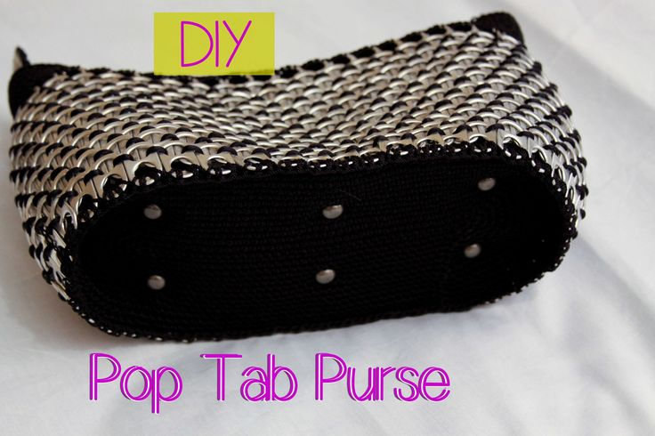 DIY: Aluminum Pop Tab Handbag part 2