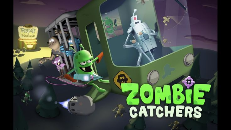 ZOMBIE CATCHERS Level 1 - 10 Gameplay Video