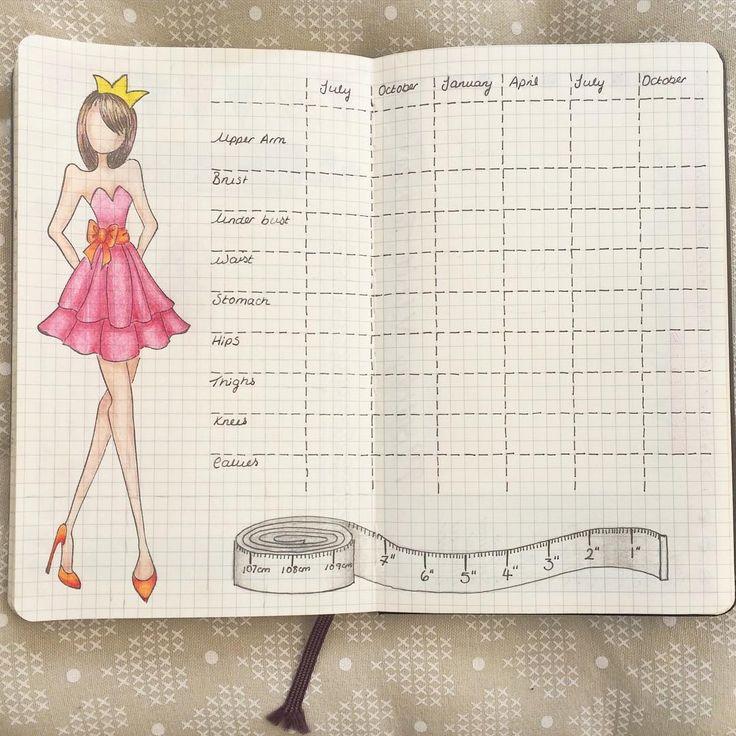 Картинка для дневника похудения
