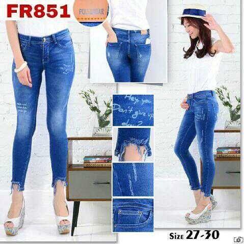 """""Ripped jeans pull & bear FR851 Material: soft jeans Harga: 130 Size: 27-30 Order PIN CS1-5A1F32FA PIN CS2-5FI5DE72 & SMS/WA 087722-575-101  Reseller & Dropship Welcome!  Happy Shopping! :) #jamtangan #jamtanganwanita #jammurah #grosirjam #sweatercouple #flatshoes #jamtanganterbaru #resellerjamtangan #taswanita #sneakerscwe #celanajeansripped #jamtanganartis #olshop #wedgesterbaru #jaketjeans  #resellerwelcome #celanajeans #sepatubandung #overall"