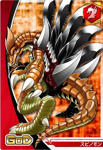 Spinomon Digimon Crusader card | Digimon | Pinterest ...