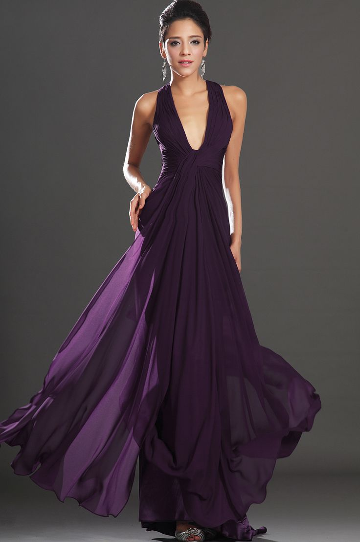eDressit 2013 New Adorable Halter Dark Purple Evening Dress (00130806)