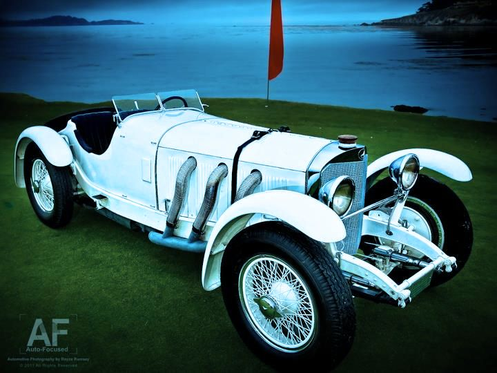 1928 mercedes benz ssk at the 2011 pebble beach concours delegance photo