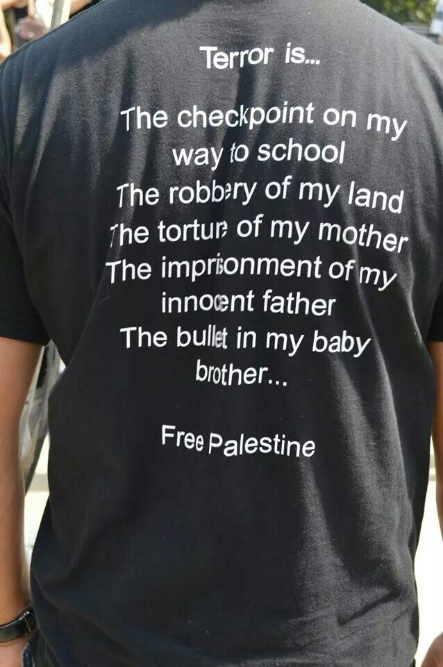 Evidence of the oppression Palestinians still face today