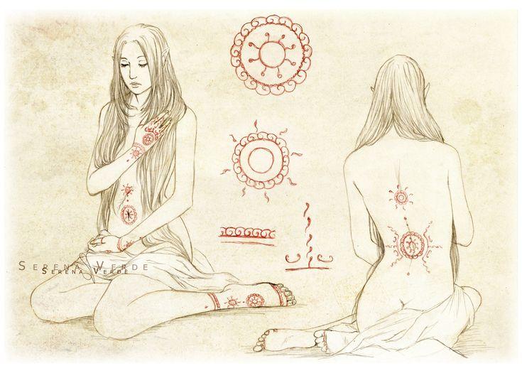 Istaaz - Tattoos chart by NadezhdaVasile on deviantART