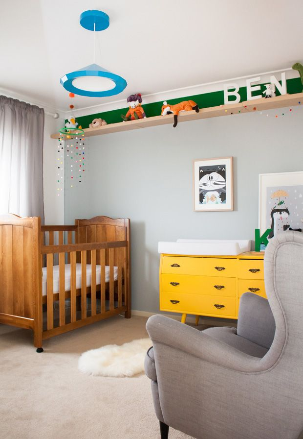 colorful nursery #quartos #decor #kids