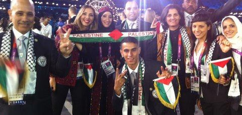 The Palestinian Olympic Team