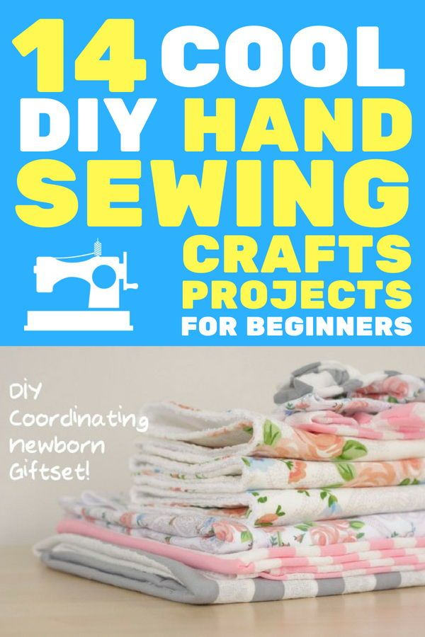 Sew It Up 14 Cool Diy Hand Sewing Craft Projects For Beginners