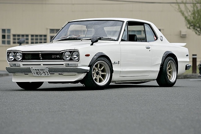 "1972 Nissan Skyline ""GT-R"" Beautiful and powerful #oldtimer"