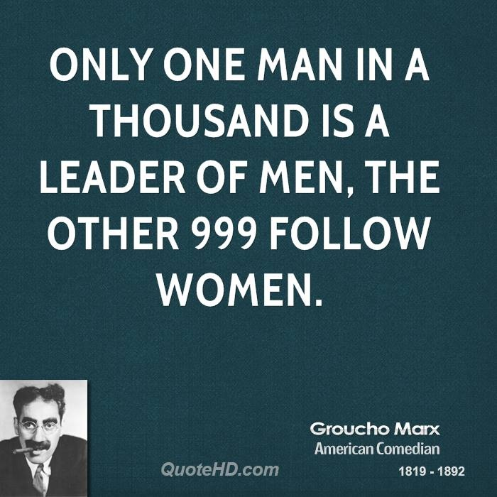 More Groucho Marx Quotes on www.quotehd.com