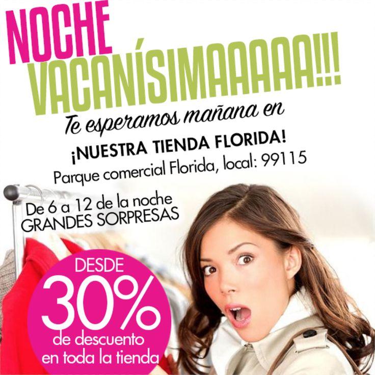 Ven mañana a nuestra tienda Florida y encuentra muchas #sorpresas y #descuentos para ti #fashion #style #design #look #woman #trendy #cocoa