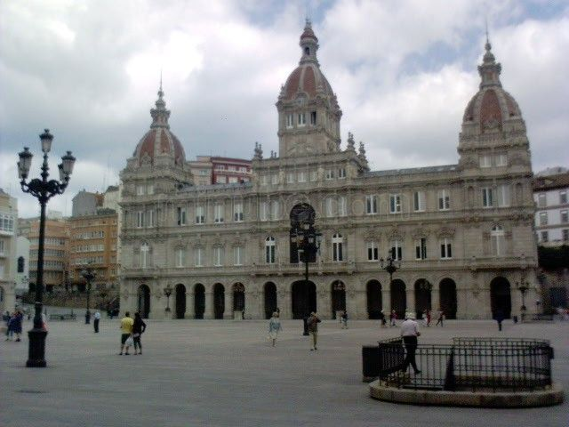 A Praza de María PIta (A Coruña).