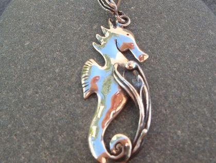 Silver Seahorse