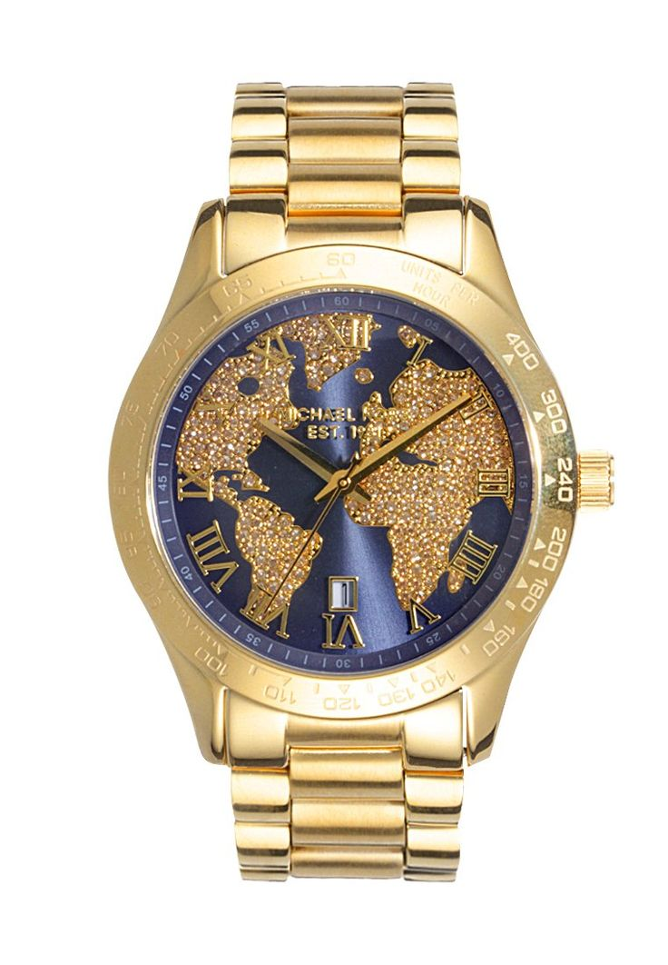 Michael Kors LAYTON Montre gold-coloured prix Montre Femme Zalando 280.00 € TTC