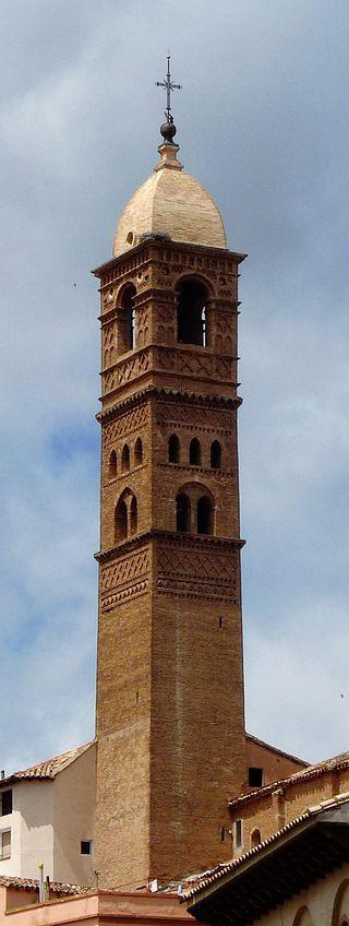 Zaragoza Tarazona - Iglesia de Santa María Magdalena - Torre