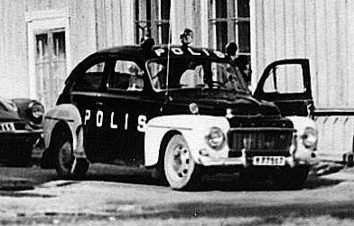 1965 Volvo PV544 F
