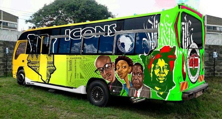 Let's get creative. #Icons #Mei #Kci #Umoinner #Matatu #Matwana #Matatu #Nairobi #Kenya #Kenyan #Art #Artsy #Grafitti #Vinyl #Airbrush #Cars #Urban #Street   #Limitless #LimitlessArt   #Setik #Setikcompany  KENYA HAKUNA MATATA KUNA MATATU