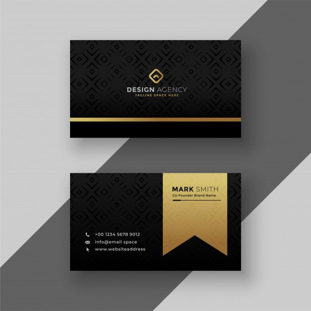 Download Stylish Black And Golden Business Card Design For Free Business Card Design Card Design Business Card Template Design