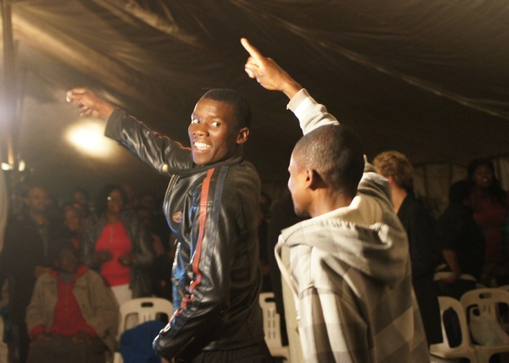 MTHATHA - Dancing for Jesus!