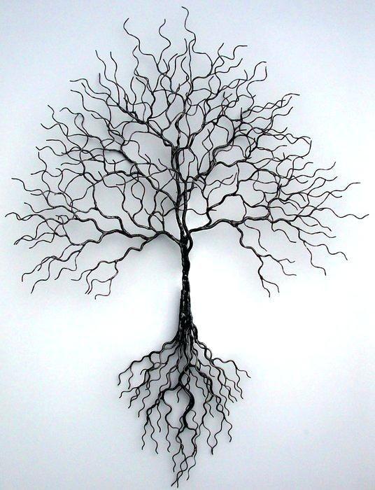 Pin By Henna Wallius On Photos My Inspirarion Tree Wall Art Metal