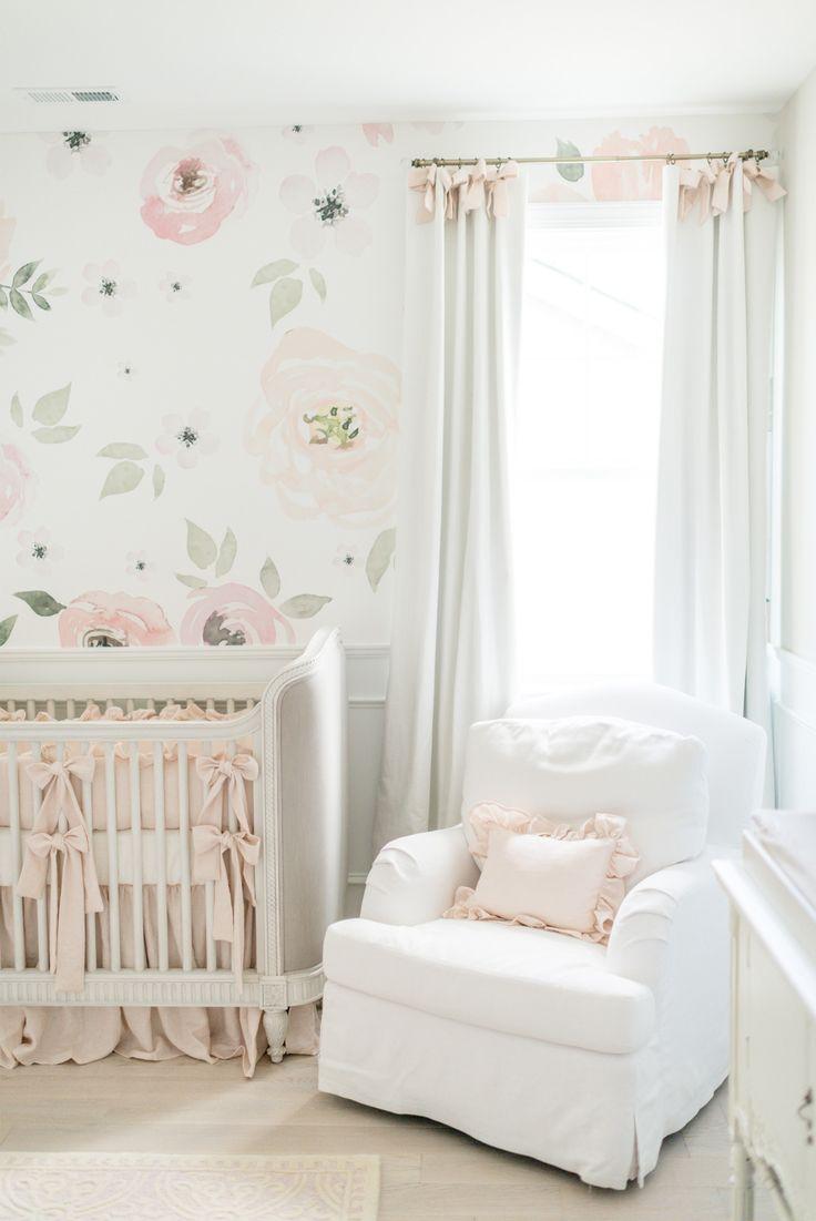 baby girl nursery nursery inspo