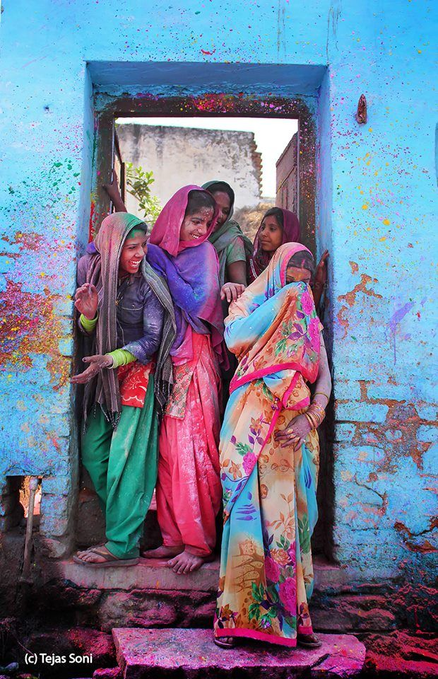 Holi 2016 – Colorful Photos from Amazing Photographers