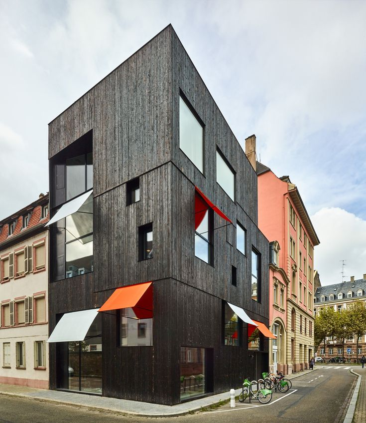 Gallery of Offices and housing Strasbourg / Dominique Coulon & associés - 1