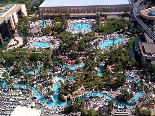 the lazy river that the MGM Grand in Vegas rocks!