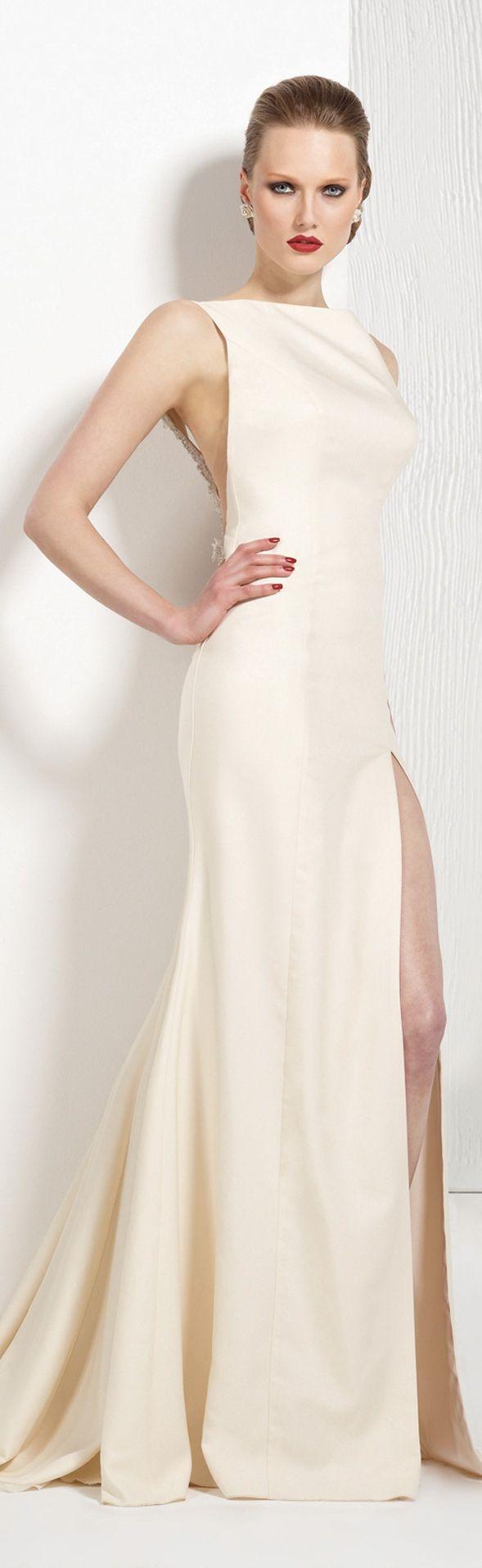 Tarik Ediz couture ~   simple.. and beautiful.