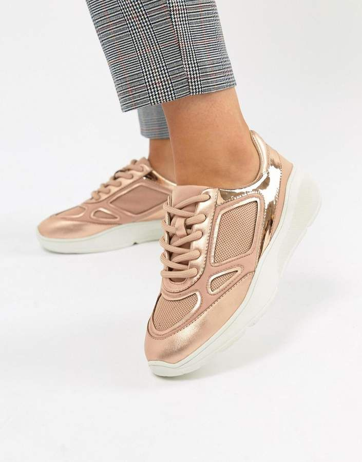 purchase cheap 6bbe3 3d89a SNEAKERS BY STEVE MADDEN - Check them out now - Steve Madden Current Rose  Gold Sneaker  asos  sneakers  sneakerhead  women  womensfashion  …    Sneakers in ...