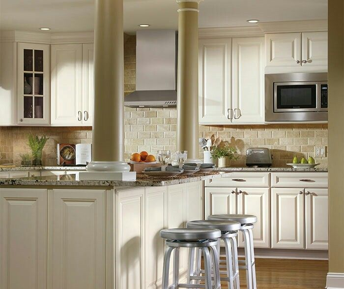 Ivory Glazed Kitchen Cabinets: 102 Best Images About Aristokraft Cabinetry On Pinterest
