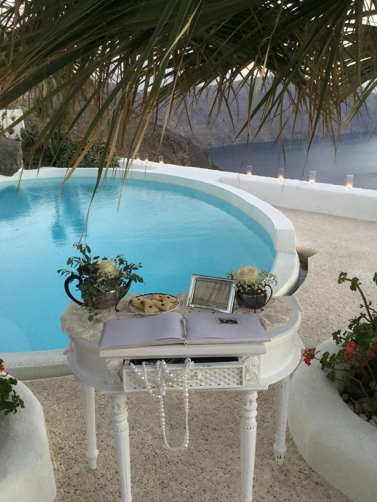Wedding wish table,Santorini