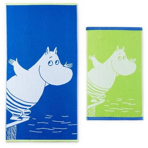Moomintroll towel set 2-pack by Finlayson