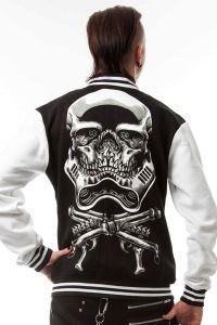 College Jacke - Skull Trooper