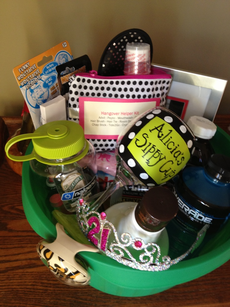 Gift Basket Ideas 21st Birthday Best Images About Baskets On
