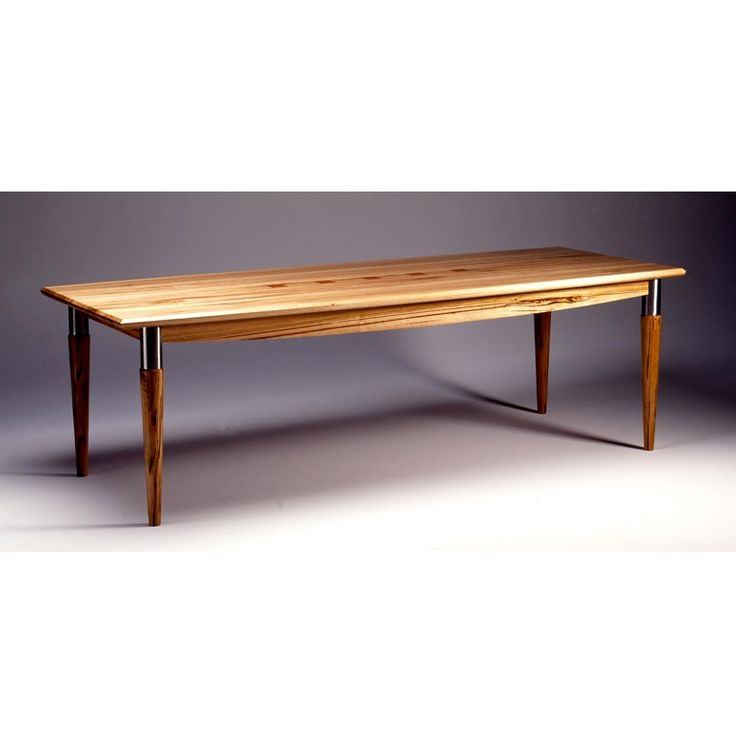 Natural Feature Dining Table by Anton Gerner - bespoke contemporary furniture melbourne