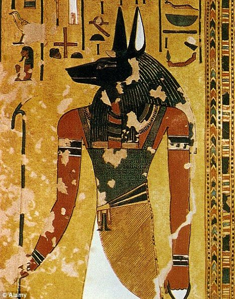 Historical presence: The jackal-headed god Anubis is closely aligned with mummification and the afterlife in Egyptian mythology