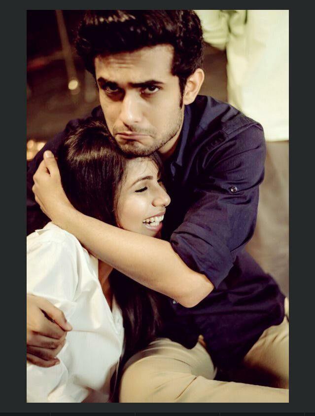 Sanam with Veebha.. I envy her