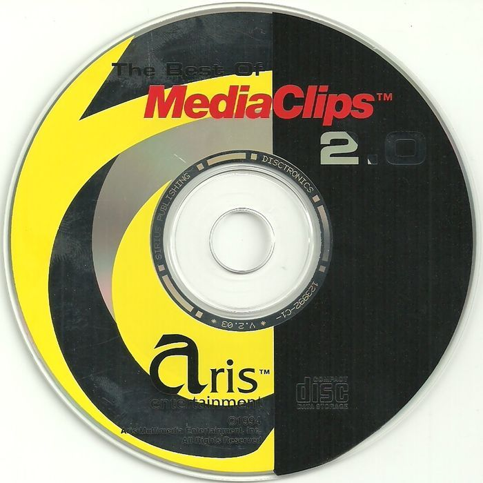 Best of Media Clips 2.0 PC Software Aris Emtertainment 1994 CD-ROM Windows 3.1 Listing in the Desktop Publishing,Software,Computing Category on eBid Canada | 155452530 CAN$10.00 + Shipping