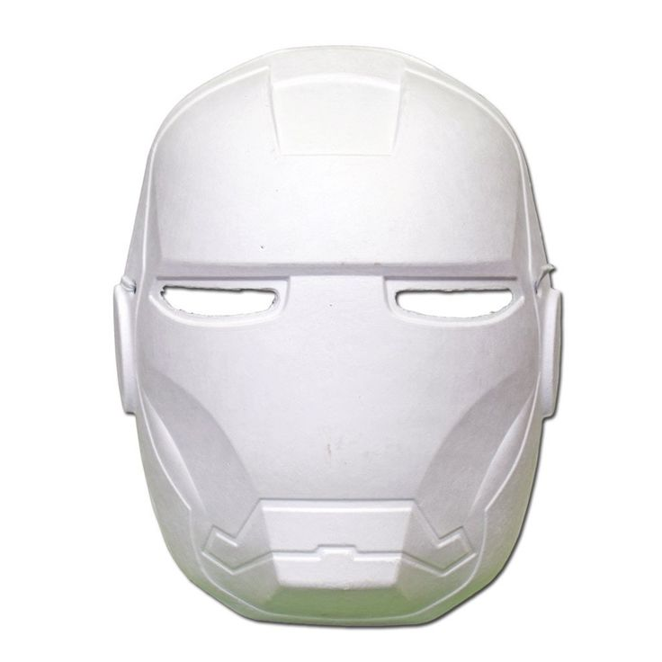 Masquerade Mask - DIY Masquerade Mask - Iron Man