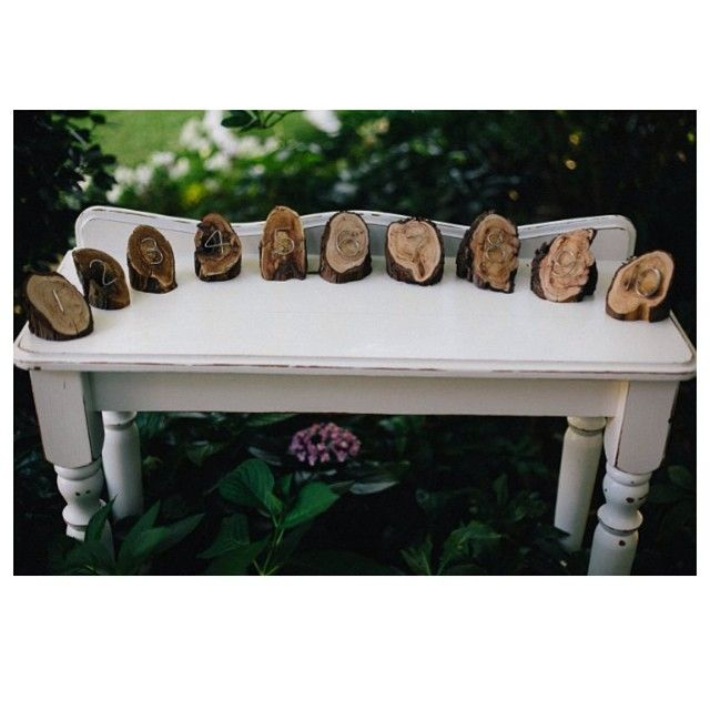 These are some of our favourite props-every single one uniquely designed and handmade by my dad-our wooden table numbers go up to 10, but more can be made if required for your event. Contact Sue and Tessa for details #willowandvine #prophire #style #events #wedding #party #tablenumbers #wooden #unique #handmade