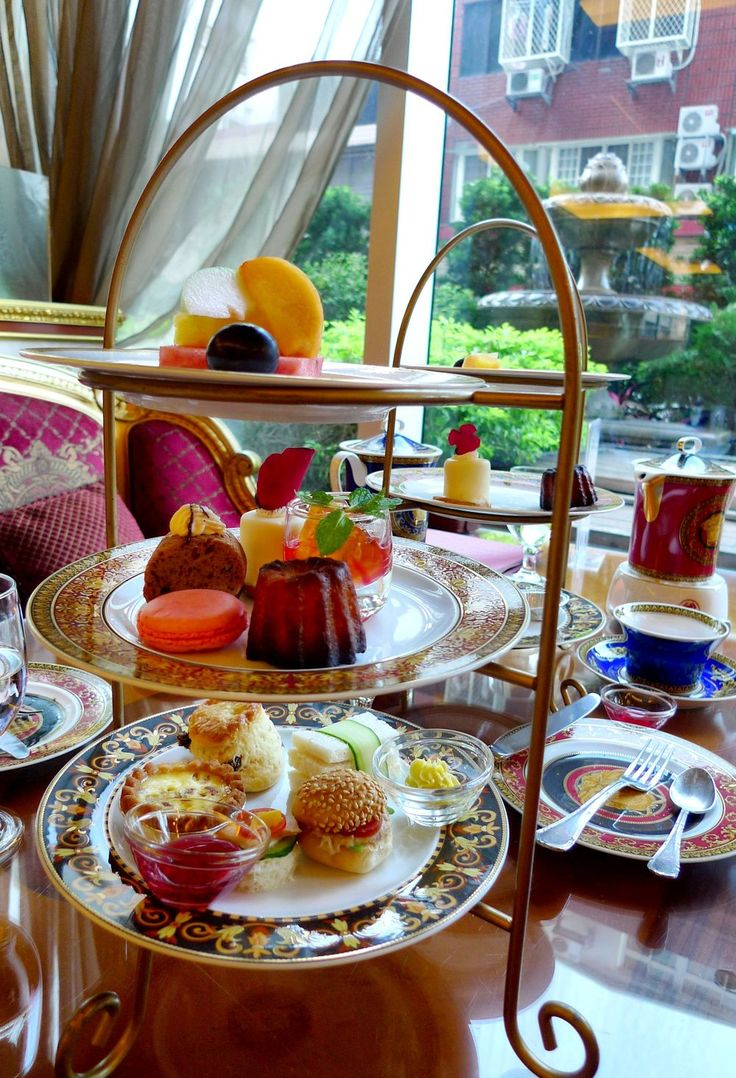 The French have high tea?