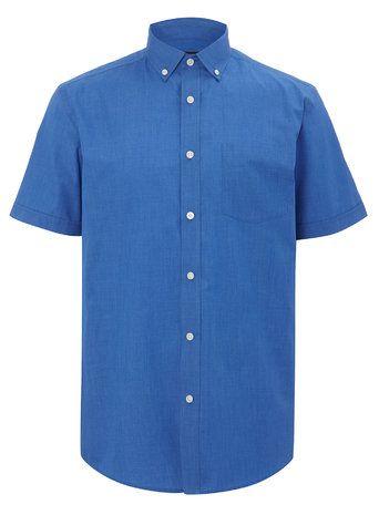Short Sleeve Plain Shirt - BHS